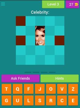 Name the Celebrity Tiles Quiz screenshot 10