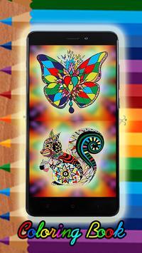 Coloring Book Mandala Deluxe 2018 poster
