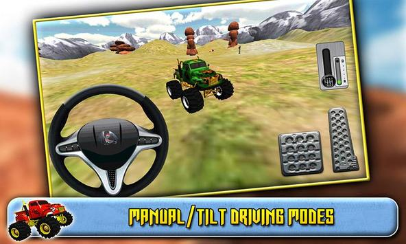 3D Monster Truck Driving screenshot 4