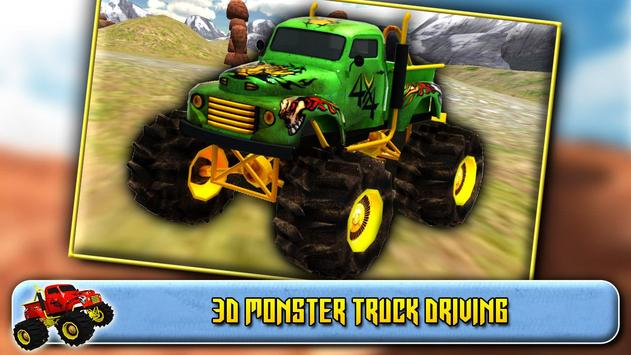 3D Monster Truck Driving screenshot 5