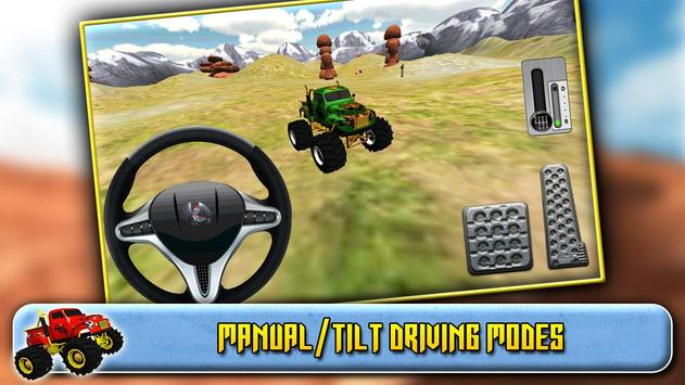 3D Monster Truck Driving screenshot 9
