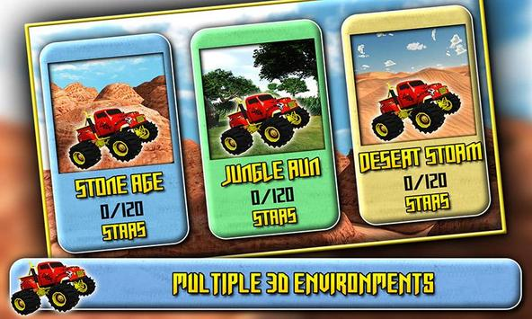 3D Monster Truck Driving screenshot 1