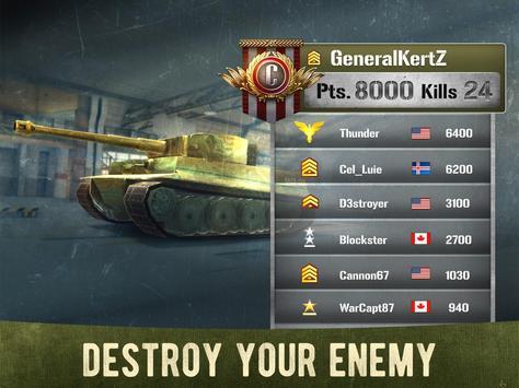 War Machines: Бесплатные Oнлайн Игры про Танки скриншот приложения