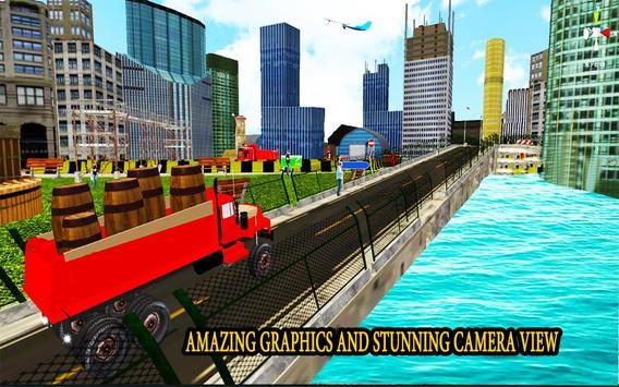 Drive elevated cargo truck apk screenshot