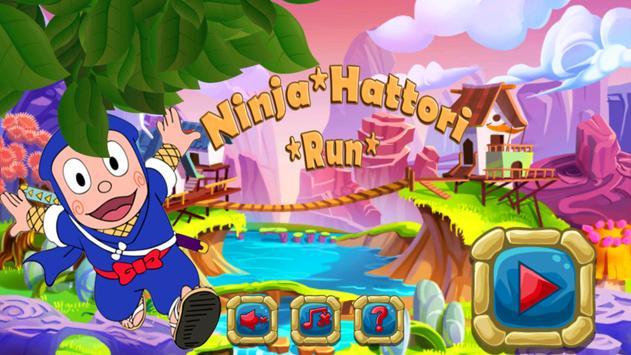 Subway ninja Adventure: hattori Game poster