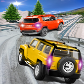 Offroad Snow Jeep 4x4 icon