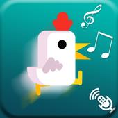 Super Chicken Scream Run 3 icon