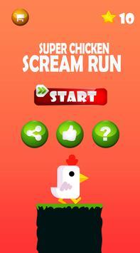 Super Chicken Scream Run 3 poster