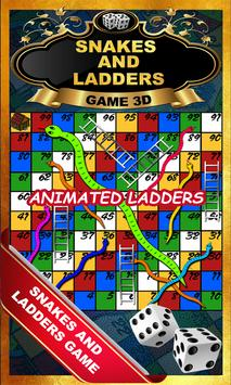Snakes And Ladders : Saanp Seedi Game-3D poster