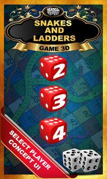 Snakes And Ladders : Saanp Seedi Game-3D screenshot 2