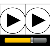 Side-By-Side Video Player icon