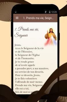 Prières à notre Seigneur Jésus Christ screenshot 1