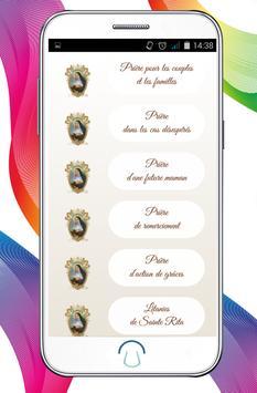 Sainte Rita de Cascia apk screenshot