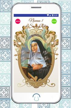 Santa Rita da Cascia poster