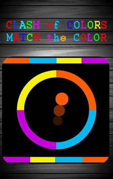CLASH of COLORS MATCH theCOLOR poster