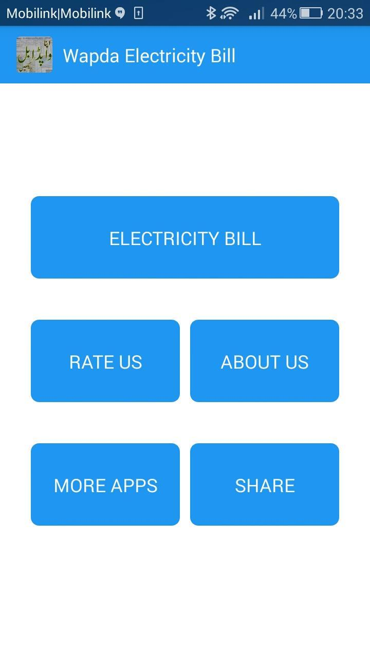 Wapda Electricity Bill for Android - APK Download