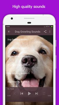 Dog Growling Sounds apk screenshot