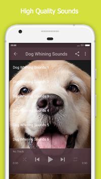 Dog Whining Sounds apk screenshot