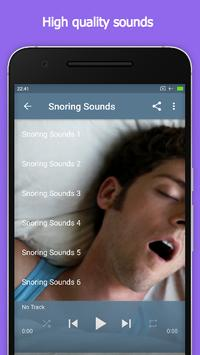 Snoring Sounds screenshot 1