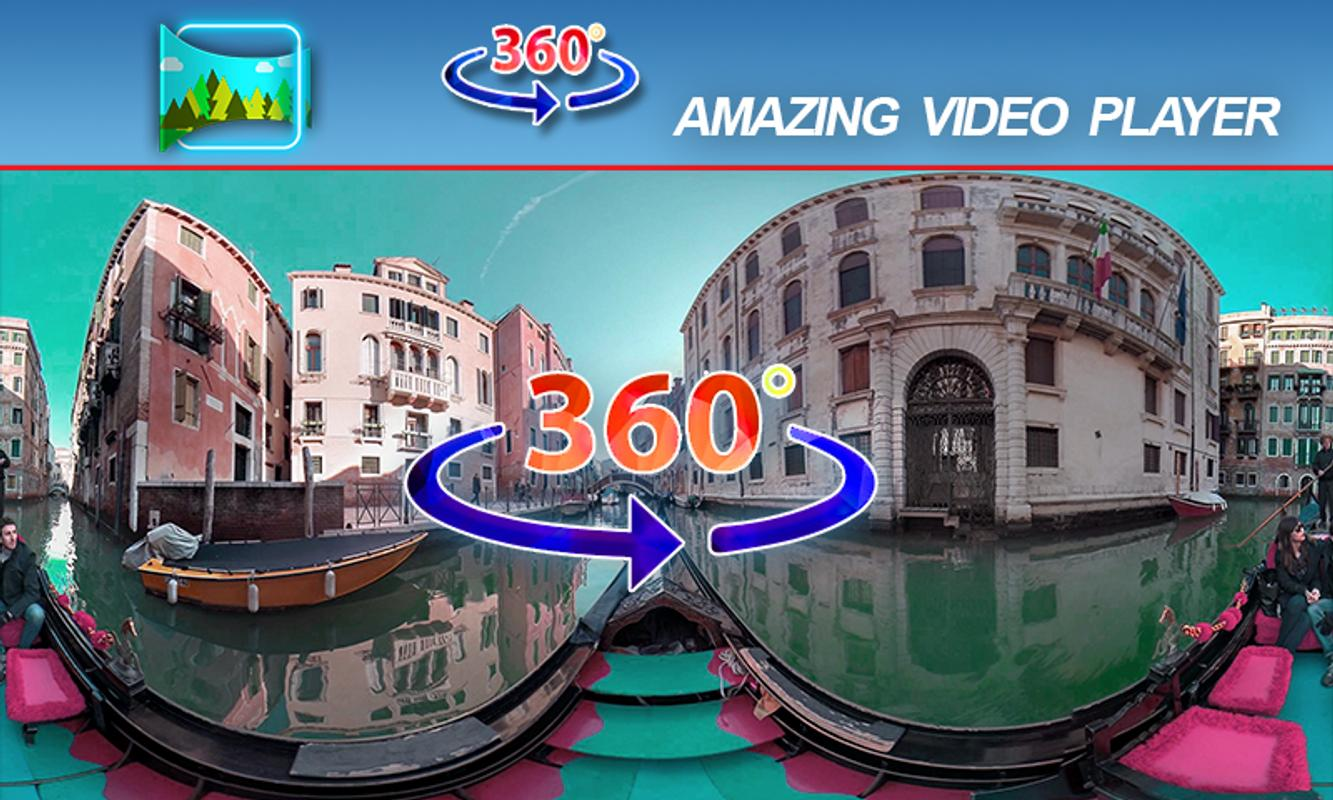 360 video player: vr cinema play 3d, 2d & 360 free for android.