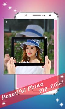 PIP Camera: Sweet Photo Editor Beauty Selfie Lite screenshot 14