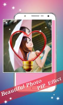 PIP Camera: Sweet Photo Editor Beauty Selfie Lite screenshot 10