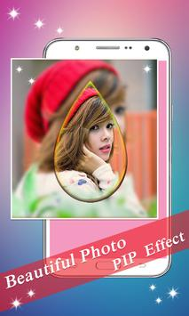 PIP Camera: Sweet Photo Editor Beauty Selfie Lite screenshot 11