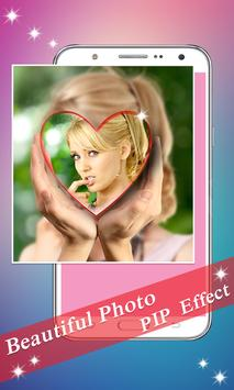 PIP Camera: Sweet Photo Editor Beauty Selfie Lite screenshot 3