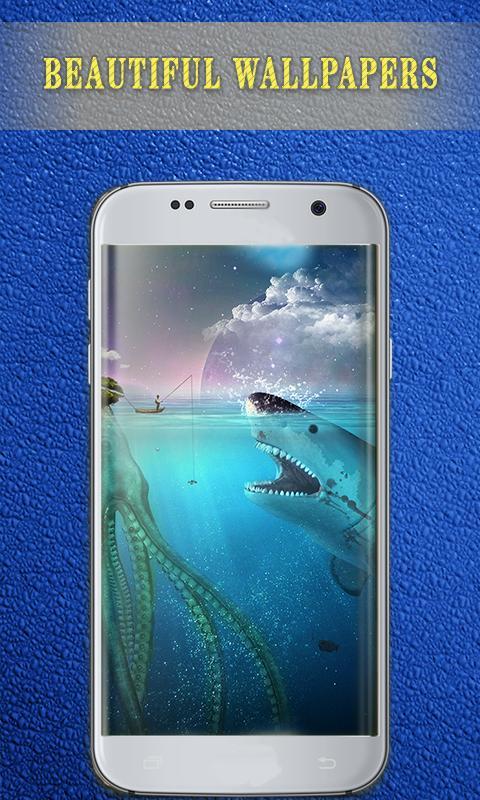 Blue Whale Wallpaper Home Lockscreen Live Whale For