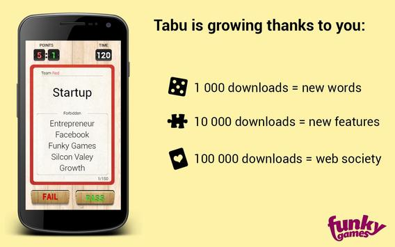 Taboo apk screenshot