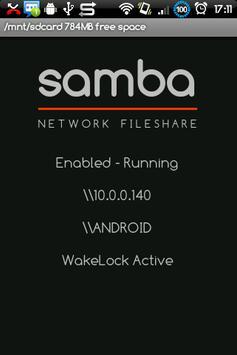 Samba Filesharing for Android poster