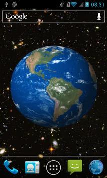 Spinning earth screenshot 1