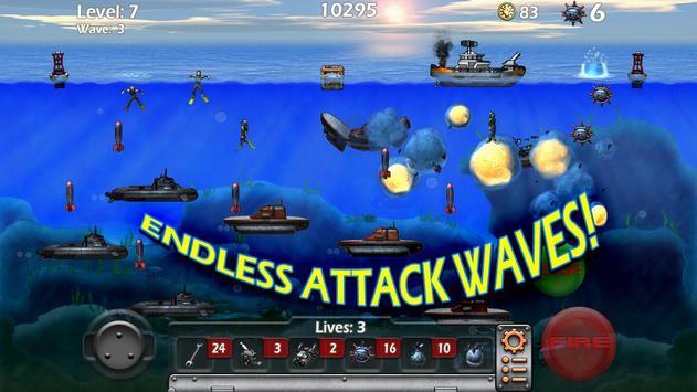 Epic Sea Battle Sub Pirates screenshot 3