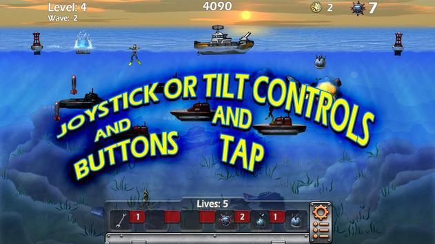 Epic Sea Battle Sub Pirates poster