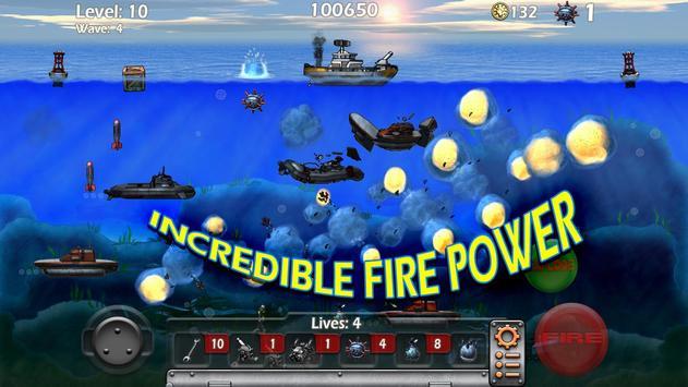 Epic Sea Battle Sub Pirates screenshot 1