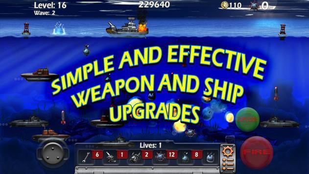 Epic Sea Battle Sub Pirates screenshot 4