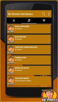 Musica Mc Kevinho Letras Mp3 Funk Brasil 2017 screenshot 1