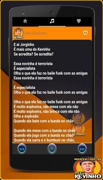 Musica Mc Kevinho Letras Mp3 Funk Brasil 2017 screenshot 2