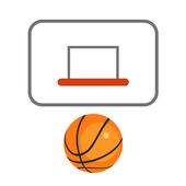 Basketball messenger game icon