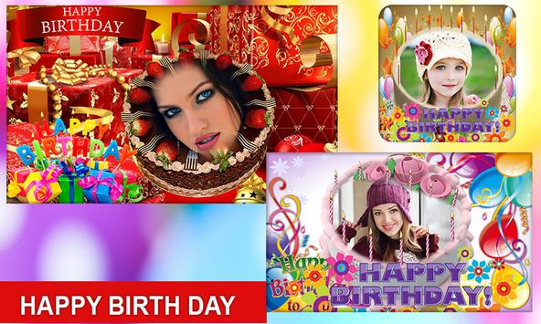 Photo on Birthday Cake – Cakes,Name & Photo Frame screenshot 13