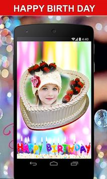 Photo on Birthday Cake – Cakes,Name & Photo Frame screenshot 4