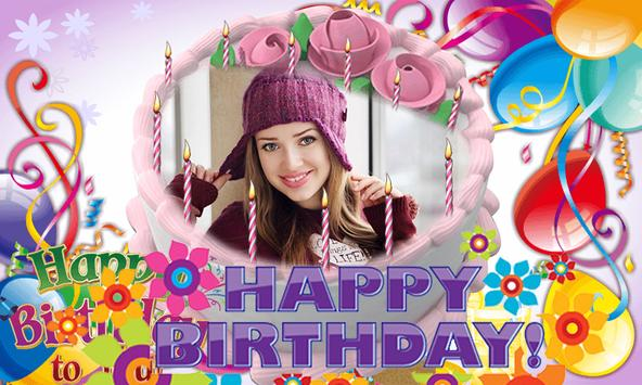 Photo on Birthday Cake – Cakes,Name & Photo Frame screenshot 7