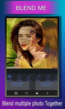 Collage Photo Blender Cam Mix –Dual Overlay Camera screenshot 13