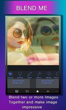 Collage Photo Blender Cam Mix –Dual Overlay Camera screenshot 5