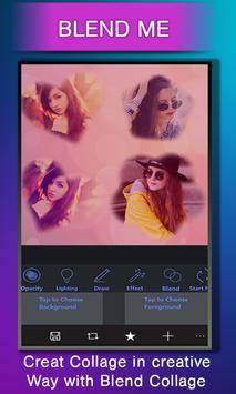 Collage Photo Blender Cam Mix –Dual Overlay Camera screenshot 9