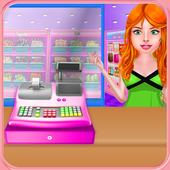 Supermarket Shop Cash Register icon