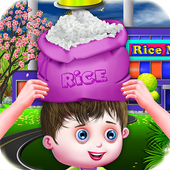 Rice farming simulator icon