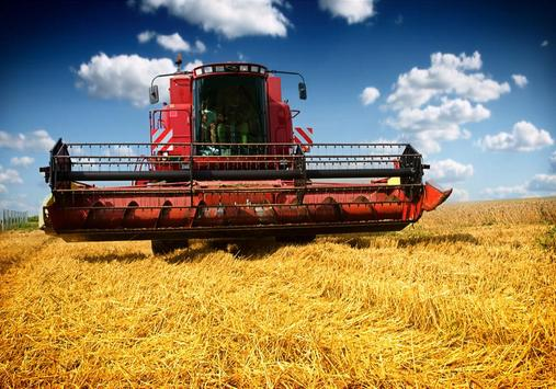 Combine Harvesters Puzzle poster