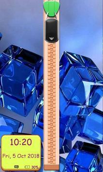 Crystal Zipper Lockscreen poster