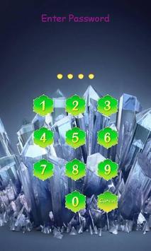 Crystal Zipper Lockscreen screenshot 1